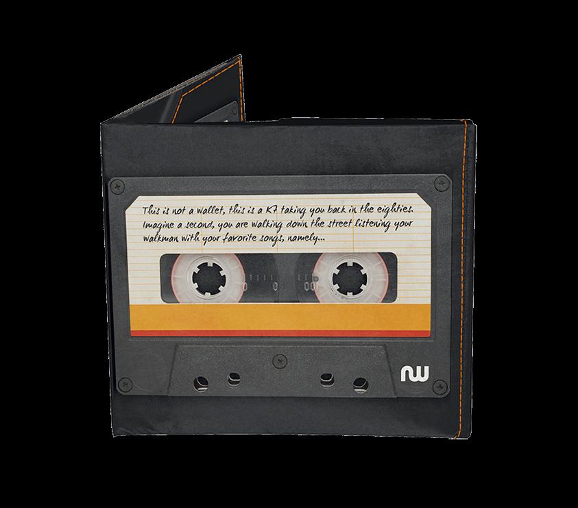 Portefeuille vintage cassette de la marque nowa