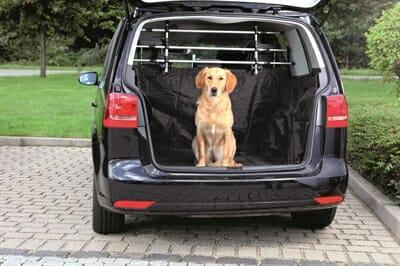 Trixie auto hondendeken kofferbak zwart